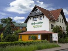 Aussenansicht Penison Pfefferstübchen Brotterode Thüringer Wald